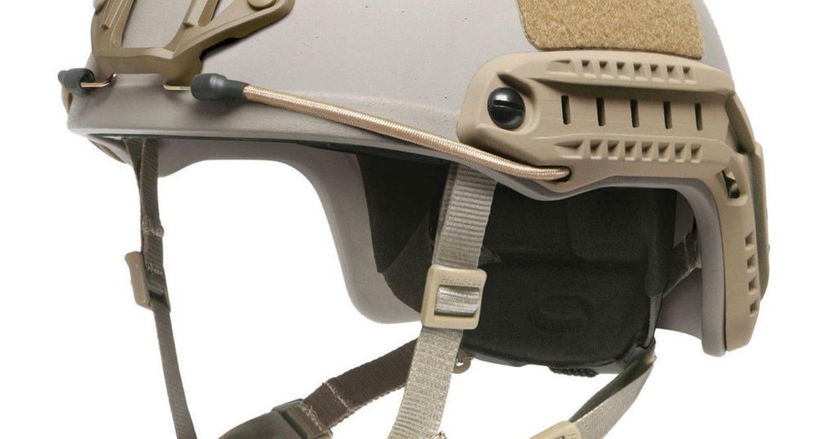 Here's the new helmet that SOCOM operators will take into battle