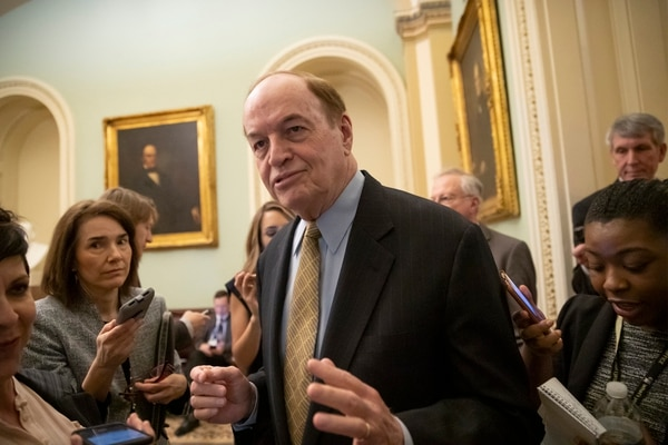 Sen. Richard Shelby, R-Ala., chair of the Senate Appropriations Committee, expressed skepticism that House Democrats can hold the line against replenishing any MilCon funding tapped by the president. (J. Scott Applewhite/AP)