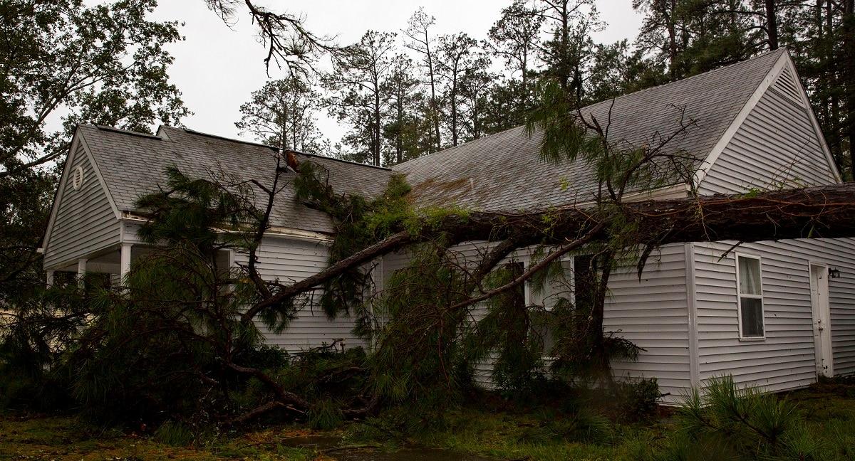 Marine bases ravaged by Hurricane Florence see large