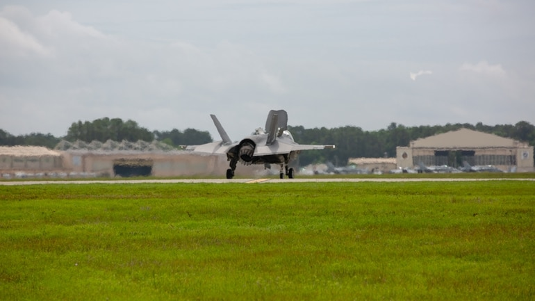 UK F-35 pilots get in gear to bring the joint strike fighter