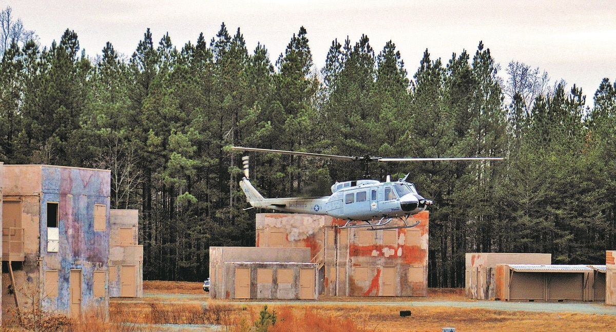 Unmanned Huey and self-driving armored trucks coming to 29 Palms
