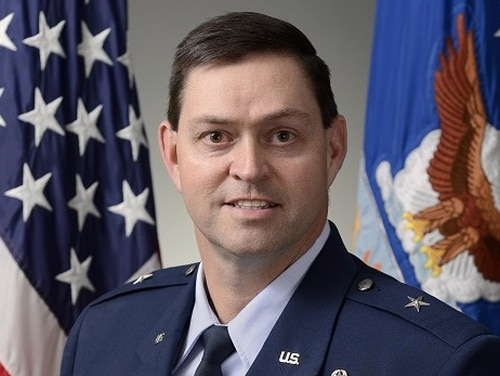 Brig. Gen. Chance Saltzman, director of current operations, heads the Multidoman Command and Control enterprise capability collaboration team. (Air Force)