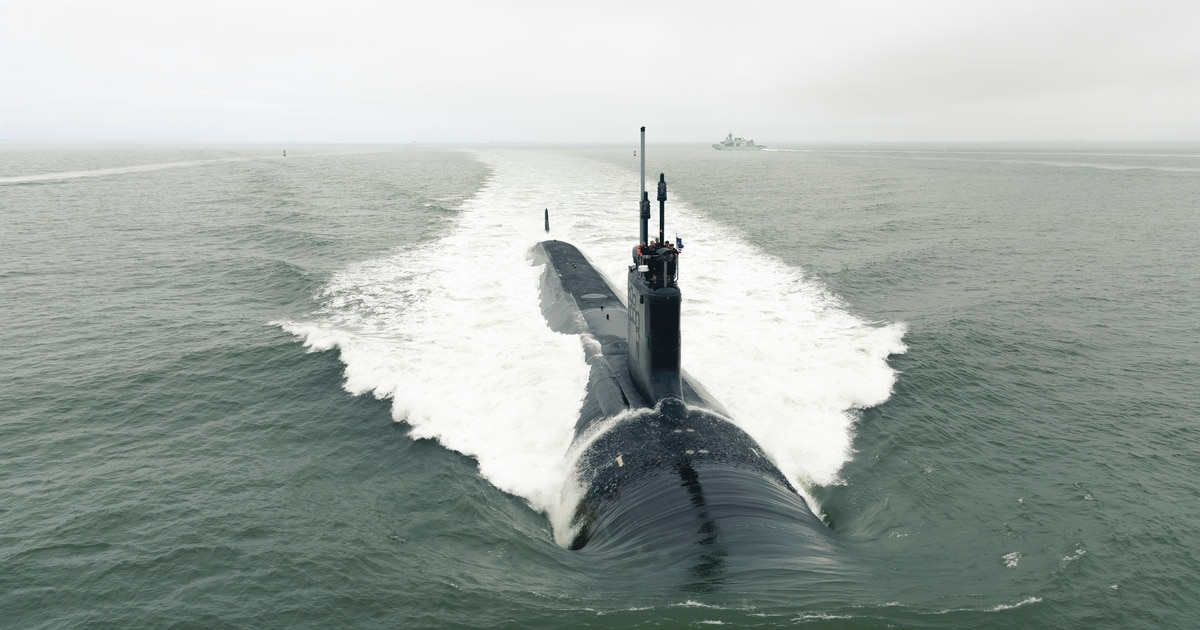The US Navy's budget looks headed for the Congressional shredder
