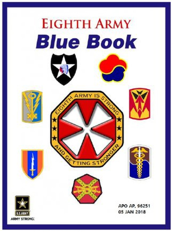 Eighth Army updated its standards book, the Blue Book, on Feb. 1, 2018. Changes include updates to the dress policy to align with Army Regulation 670-1. (Army)