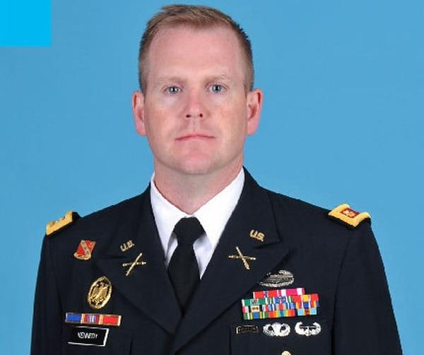 U.S. Army Maj. Thomas E. Kennedy Age: 35 Hometown: West Point, New York MOS: Field Artillery (13A)