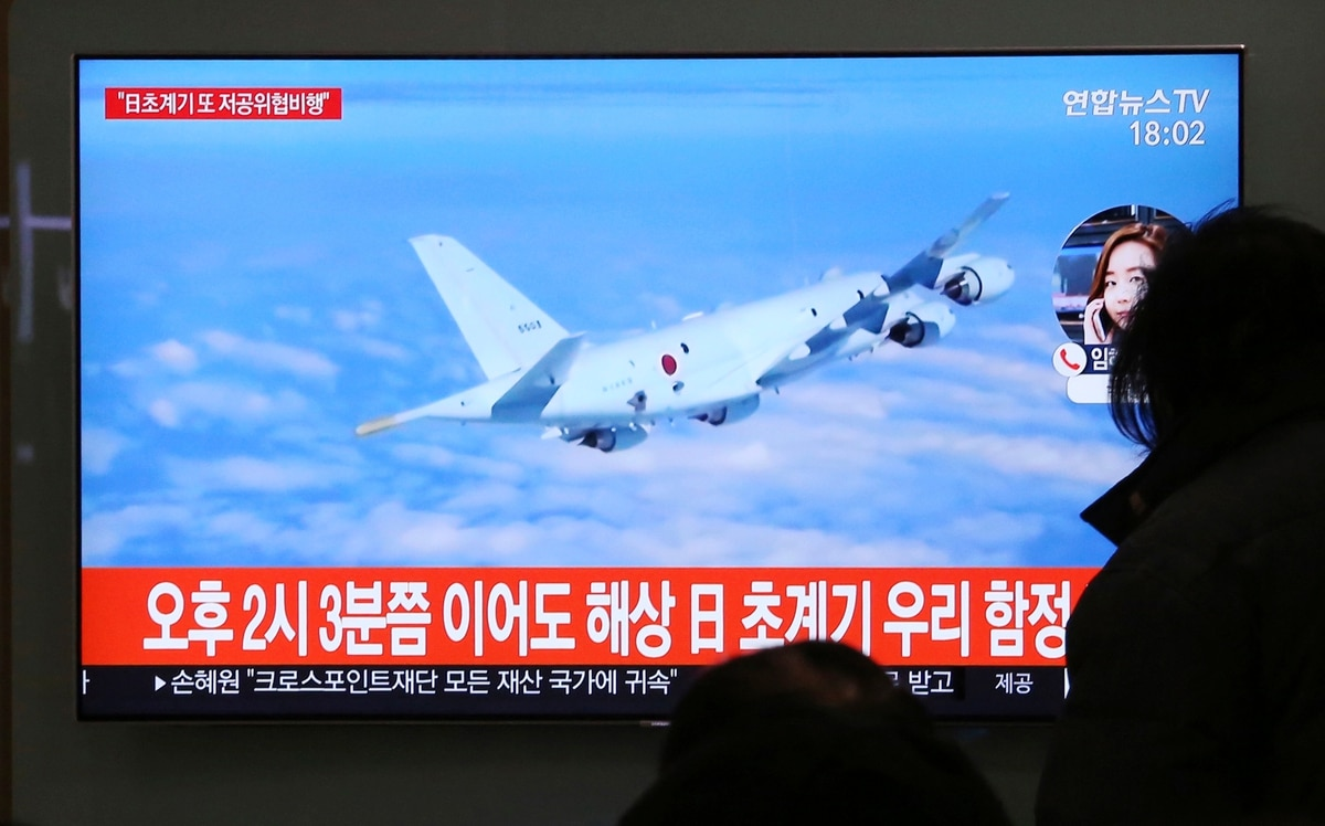 South Korea: Japan's Flight Over Warship 'Clear Provocation'