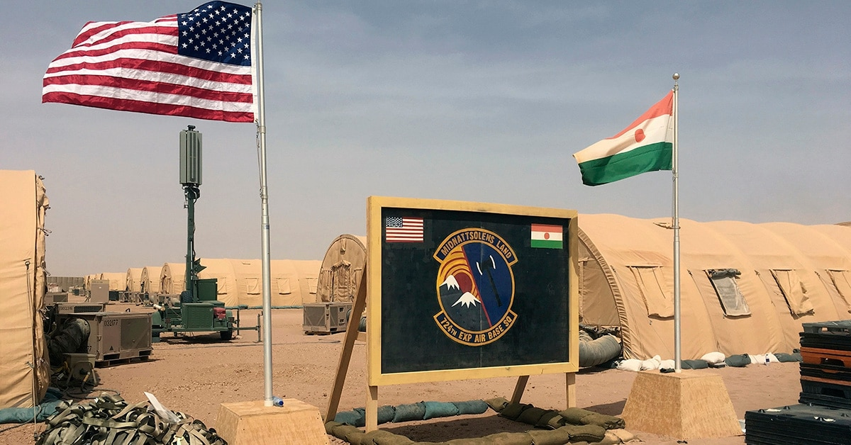 US builds drone base in Niger, crossroads of extremism fight