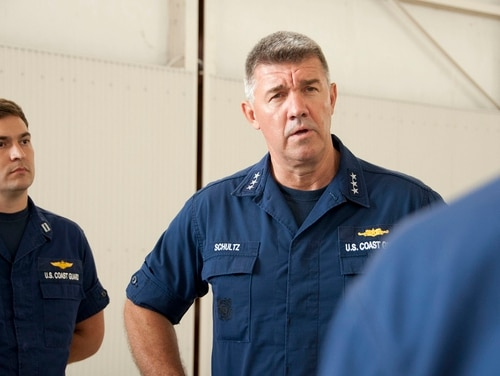 Coast Guard Atlantic Area Commander Vice Adm. Karl Schultz has been nominated to become the Coast Guard's next top officer. (Chief Petty Officer Sherri Eng/Coast Guard)