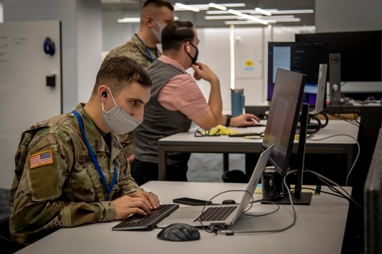 Army Futures Command's Software Factory, newly opened in Texas. (Luke J. Allen/U.S. Army)