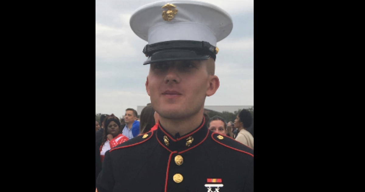Her son died of a flesh-eating infection. Now a Marine mom wants justice