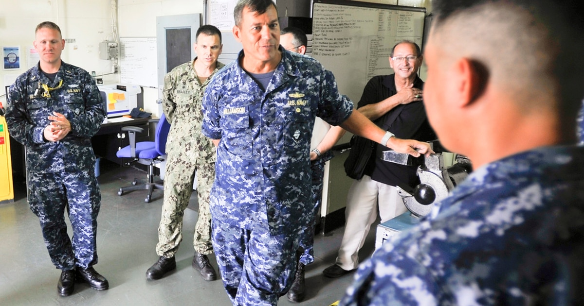 Navy: Rear Admiral fired over 'inappropriate, personal relationship'