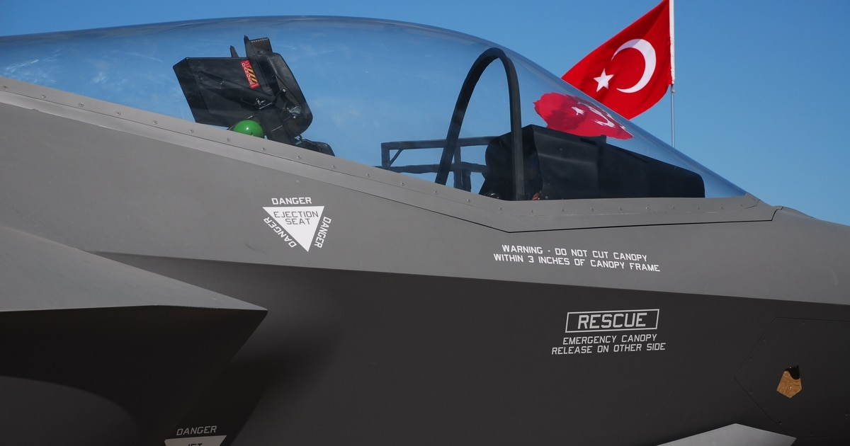 Stop buying Turkey's F-35 parts already, lawmakers tell DoD