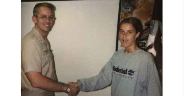 Janae Sergio was living in a homeless shelter in Los Angeles when she joined the Navy at age 18. (Janae Sergio)