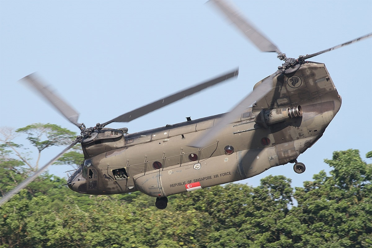Here's why Singapore is handing off its Chinooks to Australia