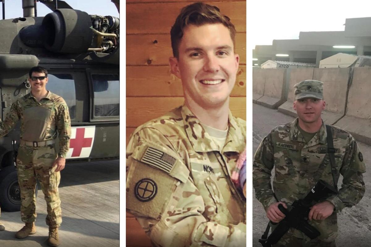 Three soldiers killed in Black Hawk crash identified