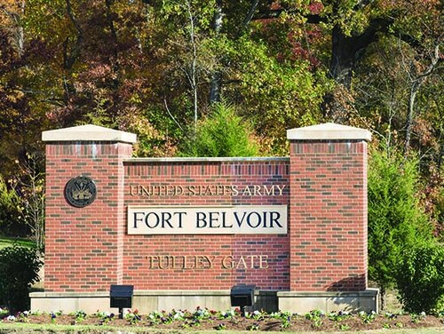 Fort Belvoir, Va., is under consideration for renaming by a Defense Department commission targeting Confederate namesakes. (Army)