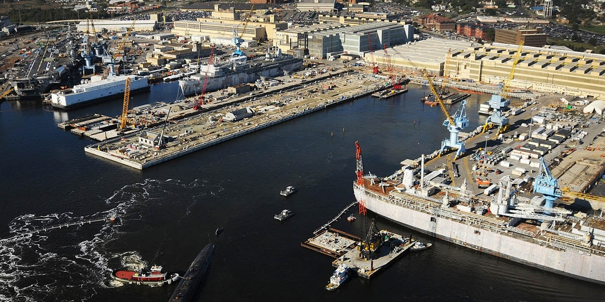 Norfolk Naval Shipyard lifts lockdown after failing to find
