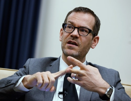 Colin Kahl, the nominee for undersecretary of defense for policy, is shown in 2012. (Chip Somodevilla/Getty Images)