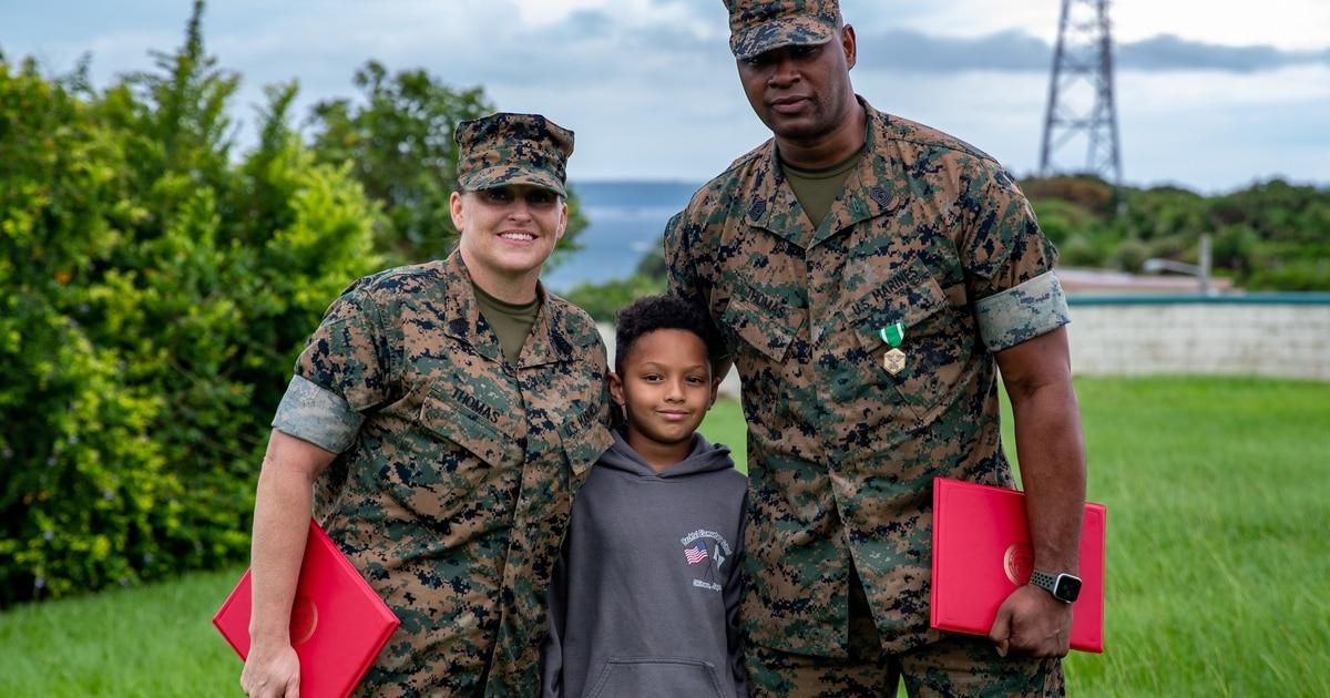 Marine couple saves over a dozen hikers after Okinawa flash flood