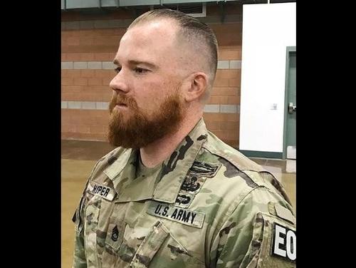 Sgt. 1st Class Benjamin Hopper. (Erick Studenicka/Army)