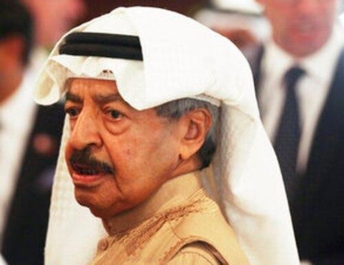 Bahrain's Prime Minister Khalifa bin Salman Al Khalifa died on Wednesday, Nov. 11, 2020. He was 84. (AP Photo/Jon Gambrell, File)
