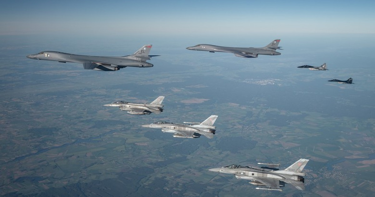 B-1Bs complete Bomber Task Force mission with Ukrainian, Turkish aircraft for the first time
