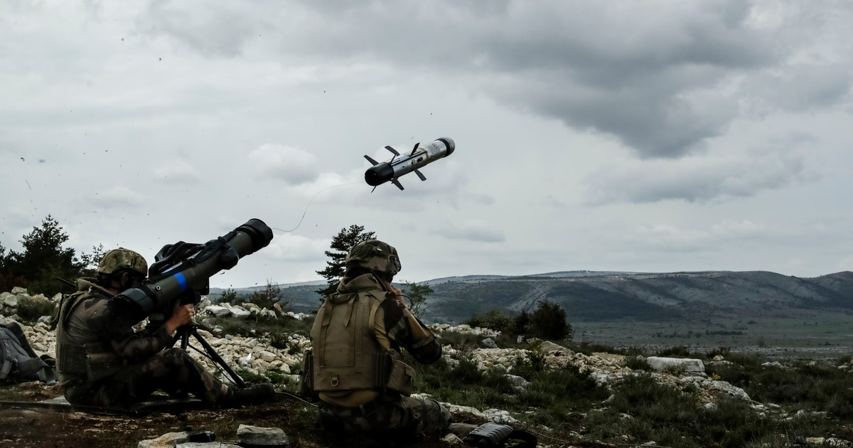 Tank-killing missile tests 'Europe First' weapons policy