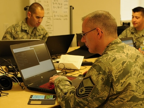 Working through the agile development process, the Army is not sure what the finial vision for the persistent cyber training environment will look like. (Lt. Col. Wayde Minami/Air National Guard)