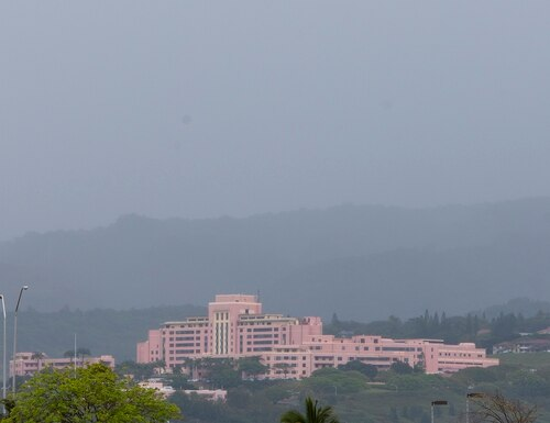 This May 2, 2014, file photo shows the Tripler Army Medical Center in Honolulu. (Marco Garcia/AP)