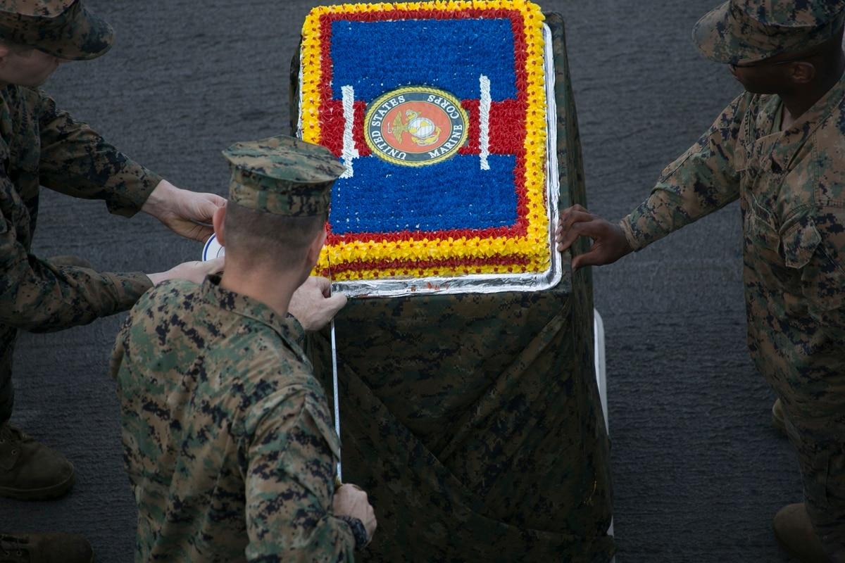 Marine Corps Celebrates 241st Birthday At Parris Island
