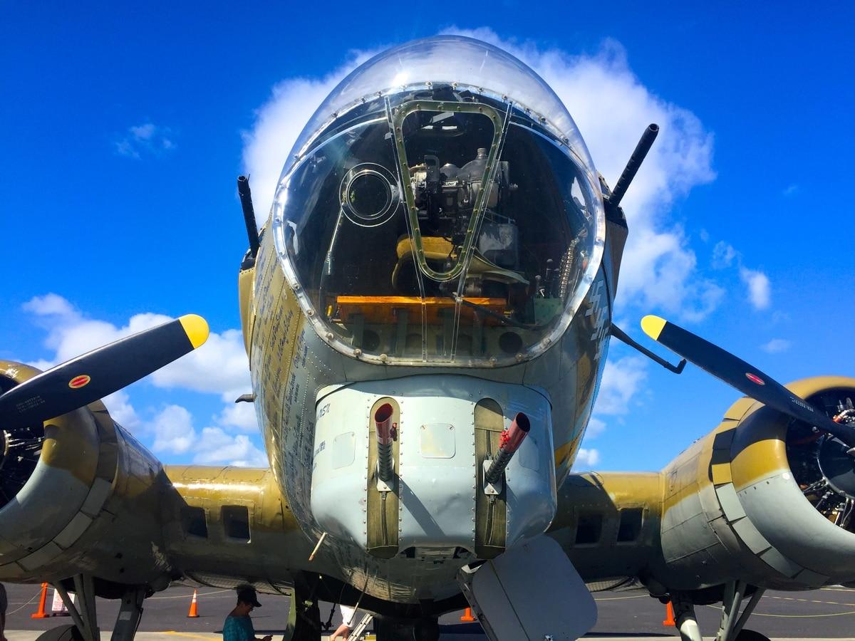 Cold Blue' brings death-defying world of World War II B-17