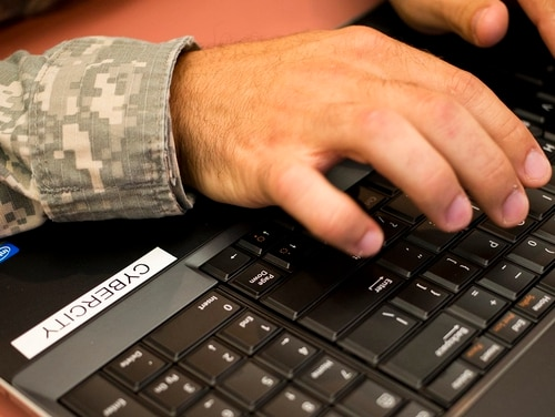 Military officials will update an online database of troops' and veterans' information after outside advocates charged it could be used by scammers and identity thieves. (Staff Sgt. Tracy J. Smith/Georgia Army National Guard)