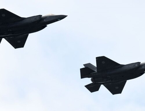 The UAE wants to buy the F-35 joint strike fighter. (Kazuhiro Nogi/AFP via Getty Images)