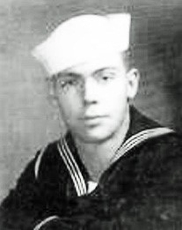Navy Seaman 2nd Class Richard J. Thomson, 19, of League City, Texas, killed during World War II, was accounted for on March 14, 2019. (Defense POW/MIA Accounting Agency)