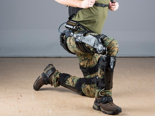 Soldiers with the 10th Mountain Division will be the first to test the Lockheed Martin designed ONYX exoskeleton. (Lockheed Martin)