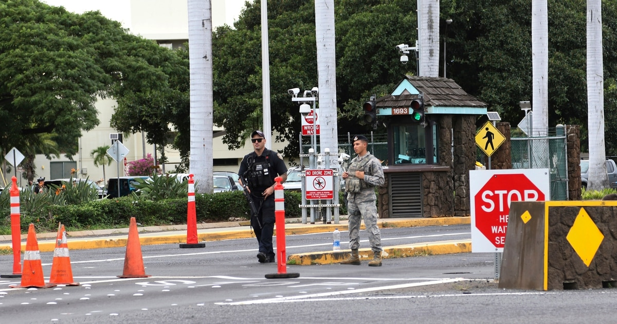 Hickam fires security forces squadron commander, superintendent after investigation
