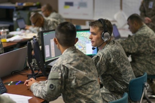 """The solution is centered on upgrading and replacing parts in the DCGS-A """"Brain."""" The solution would also allow intelligence information to be transmitted to the battlefield as well as the distribution of geospatial information and services."""