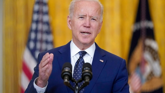 A new executive order from President Joe Biden aims to improve detection of cyber threats on federal networks. (Andrew Harnik/AP)