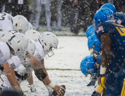 A rivalry renewed: The annual Army-Navy game is set for its 119th rendition Dec. 8 in Philadelphia. (PO1 Dominique A. Pineiro/Navy)