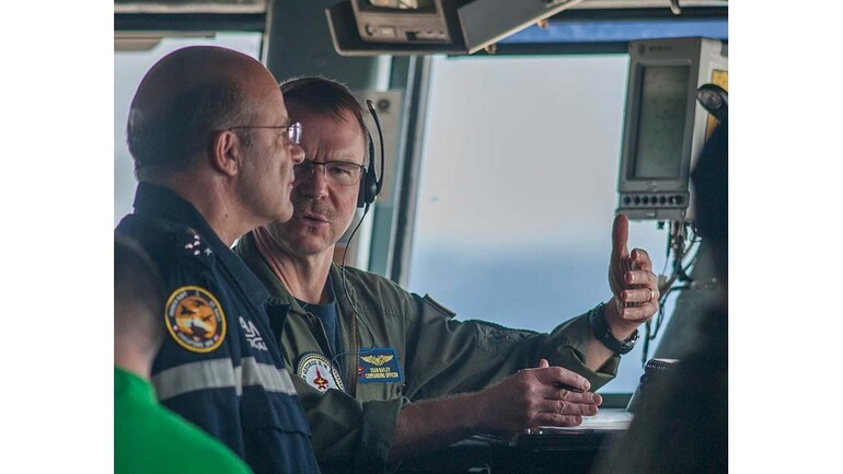 French connection: Joint US-French carrier ops highlight