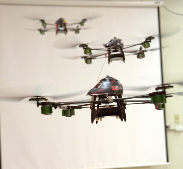 UAV SWARM Health management project.