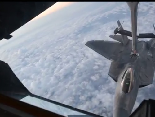 See what airman think of during mid-air refuelings. (Screenshot)