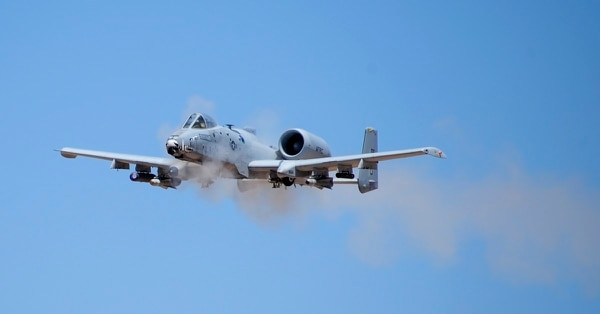 The Air Force has been trying to retire the A-10C Thunderbolt II for years to fund modernization but has been repeatedly blocked by Congress. (Airman 1st Class Mya M. Crosby/U.S. Air Force)