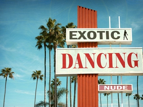 Army Recruiting Command has told TDY recruiters they are barred from visiting erotic dance establishments. (Getty Images)