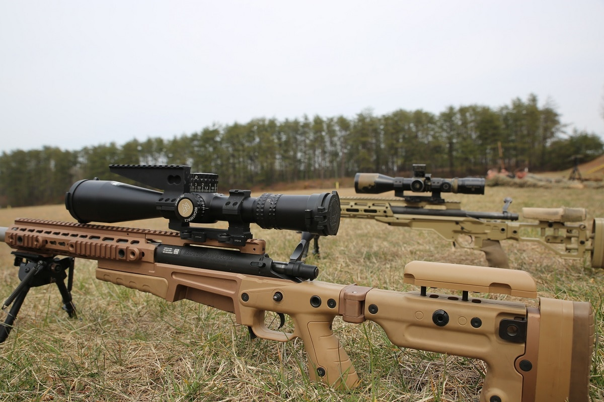 The Corps Has Already Started Fielding The New Mk13 Sniper Rifle