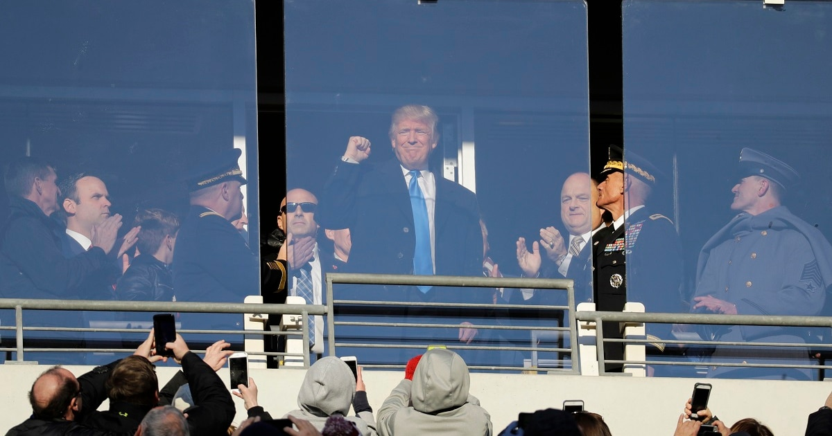 President Trump to attend Army-Navy game