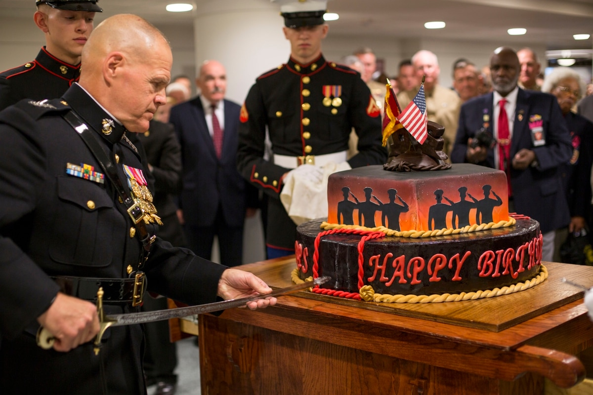 To Corps Country And Each Other Top Marines Birthday Message