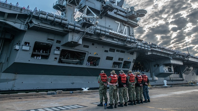 What's next for the carrier John C  Stennis?