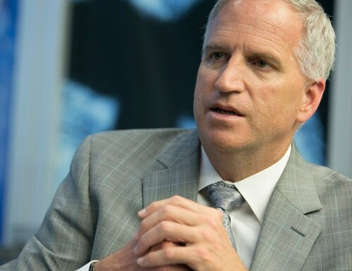 It is becoming easier for adversaries to create confusion through advancements in technology, according to National Geospatial-Intelligence Agency Director Robert Cardillo. (Mike Morones/Staff)