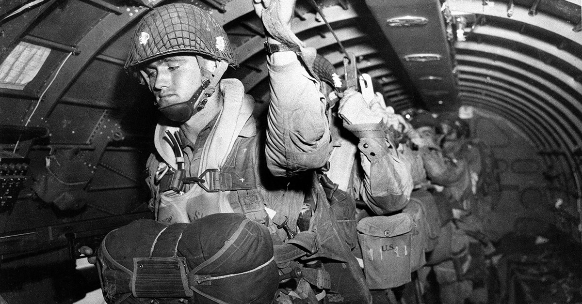 Two Of The Last 82nd Airborne Paratroopers Who Jumped At D Day Describe Their Experience